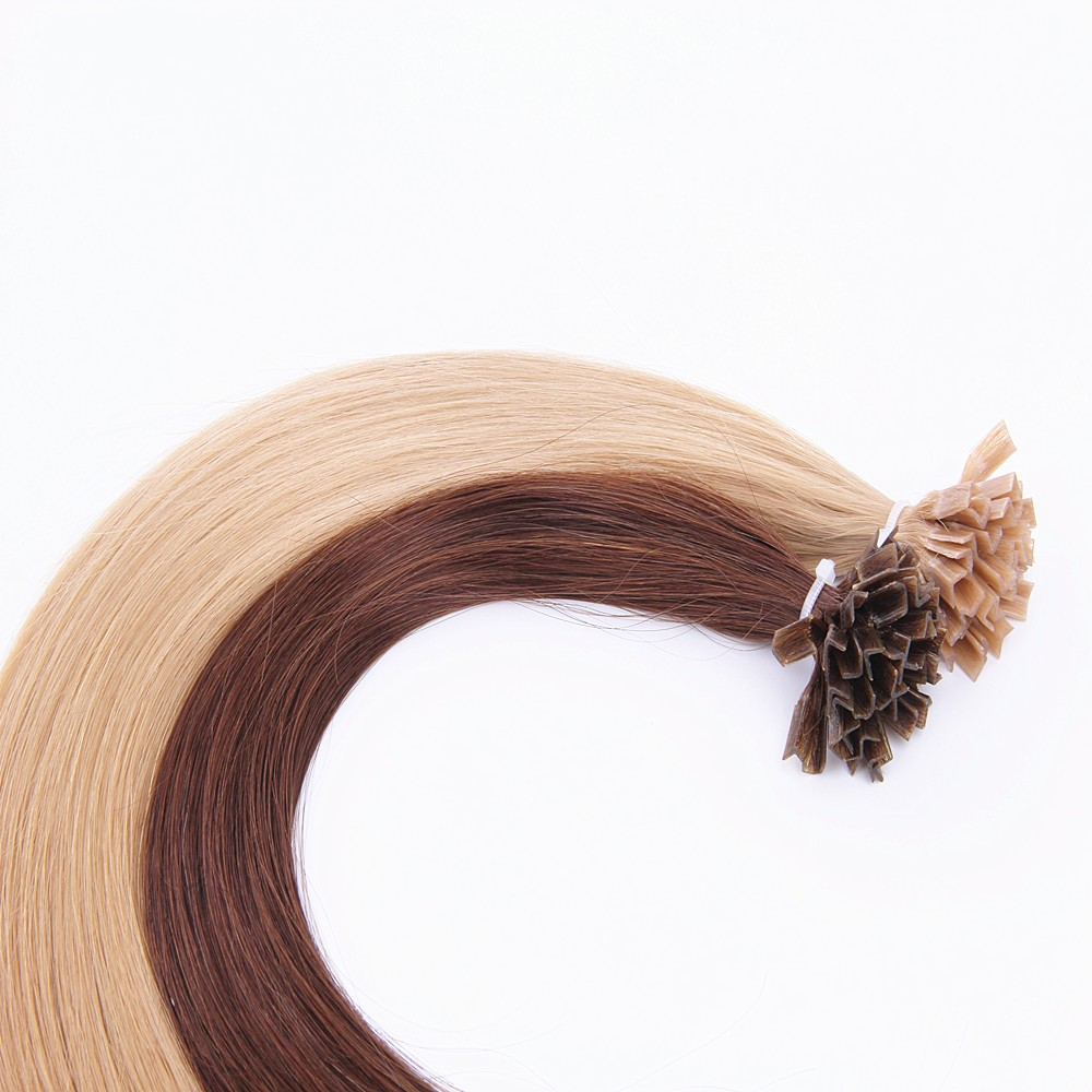 quality human remy hair V tip prebonded extension