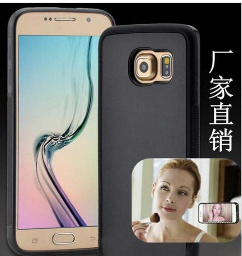 2017 New Popular pc tpu nano suction material anti-gravity cell phone case for Samsung galaxy S7 S8 case antigravity