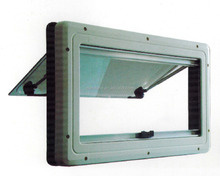 Safety aluminum extrusion campervan windows