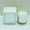 shenzhen lihome supply scented candle in glass/ candle holder with color gift box