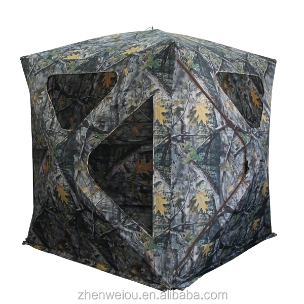 3-Person Camouflage Fabric Hub Blind Hunting Blinds