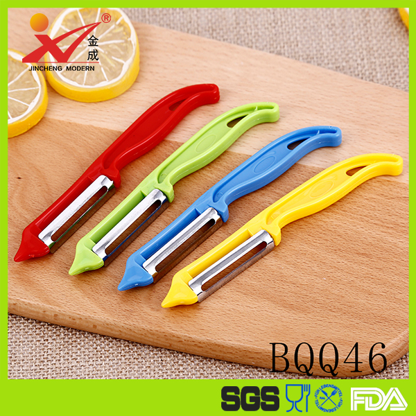 Multi-functional Vegetable Peeler With Double Sided Hand-Protection Sliding Cover