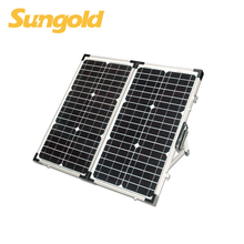 2*30W Folding Portable solar panel kit for charger 12V battery