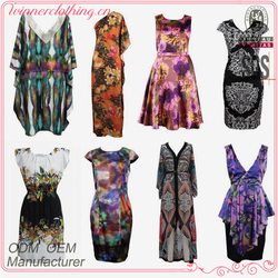 Hot selling fashionable women's plus size clothing
