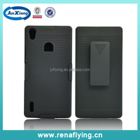 for Huawei Ascend P7 holster combo case