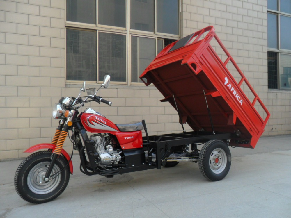 EEC Cargo Tricycle / 3 Wheel Motorcycle High Quality Heavy Load