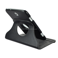 New design for Samsung Tablet Galaxy Tab 2 P3100 Leather PU case with rotating function