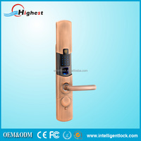 China Top Fingerprint Sensor Lock with USB Interferce for Timber Door Secyrity