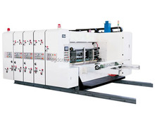 Economic automatic feeding printer uith slotter&rotary-die cutter