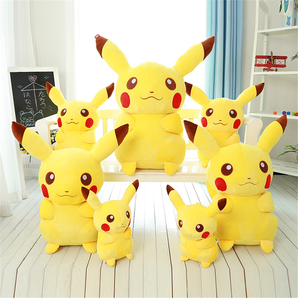 2018 popular wholesale pokemon stuffed pikachu plush toy