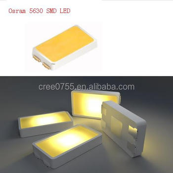 High Intensity Led Diode 5630 DURIS E5 Led SMD Available At 4000K CRI 80