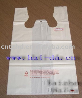 degradable handle bags