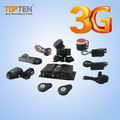 3G GPS tracking system support temperature sensor/fuel monitor/camera/rfid reader