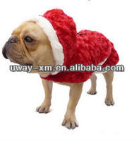 Gorgeous Red Dog Jersey Christmas Shirt Hoodie Jumpsuit Pet Dog Cat Clothes Apparel