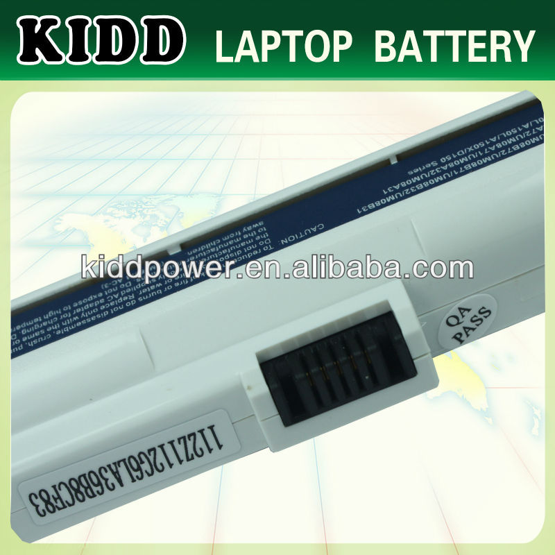 for ACER LC.BTP00.017, UM08A31 Laptop Battery ,Packard Bell EasyNote Aspire One series, For GATEWAY LT1001J
