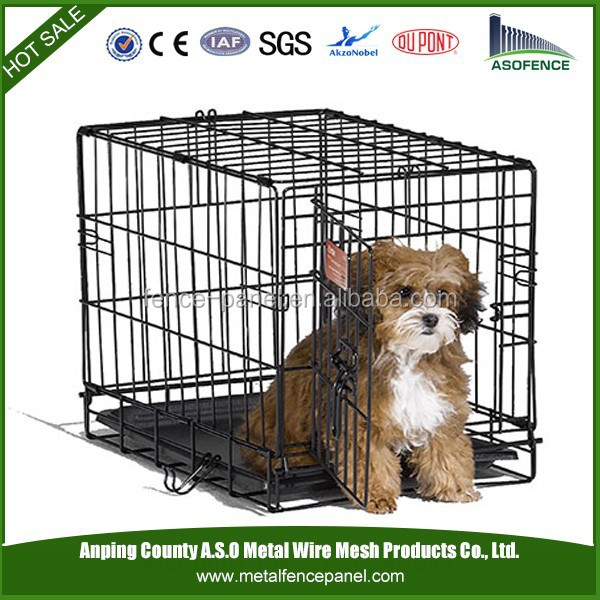 Portable Metal Suitcase Pet Dog Cat Crate