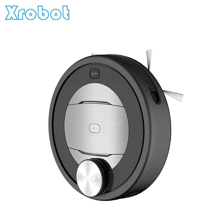 CE RoHS certificate intelligent WiFi control robotic vacuum cleaner with Laser scan navigation