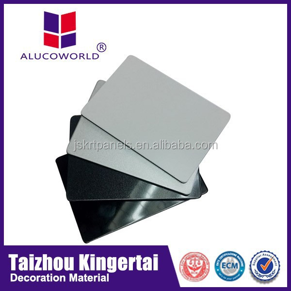 Alucoworld hot sale new design aluminum door sheet specification aluminum acp 3mm aluminium composite panel