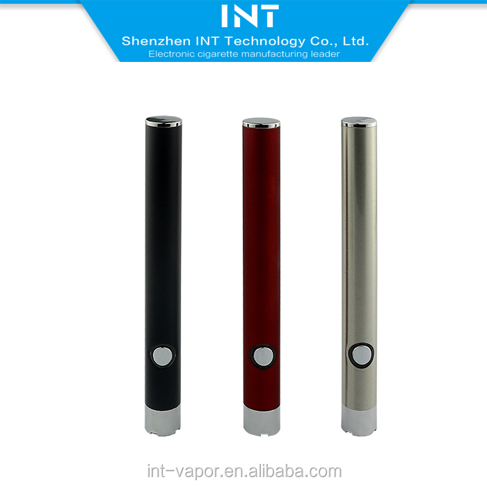 Durable ecig 350 mAh 510 Thread electronic cigarette vape pen battery