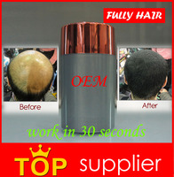 Keratin Hair Building Fibers makes thinning hair look thickening and full in 30 seconds