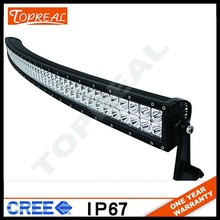 "Factory directly wholesale50 inch 288w 52"" curved led light bar"