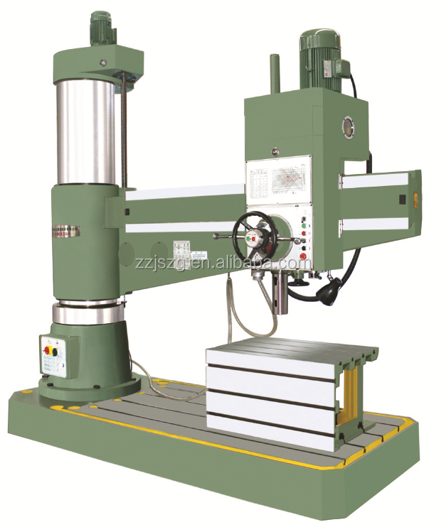 radial drilling machine with drilling capacity 80mm