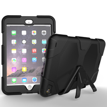 Heavy Duty Shockproof Rugged Armor Kickstand Case For iPad Mini 4 Case