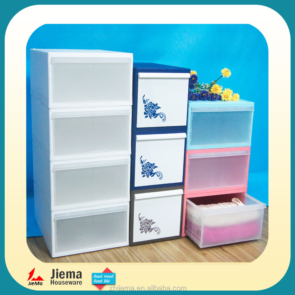 Folding easy to transport OEM plastic storage boxes for storage clothes