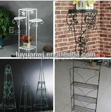 iron flower pot stand for sale(manufacyurer)