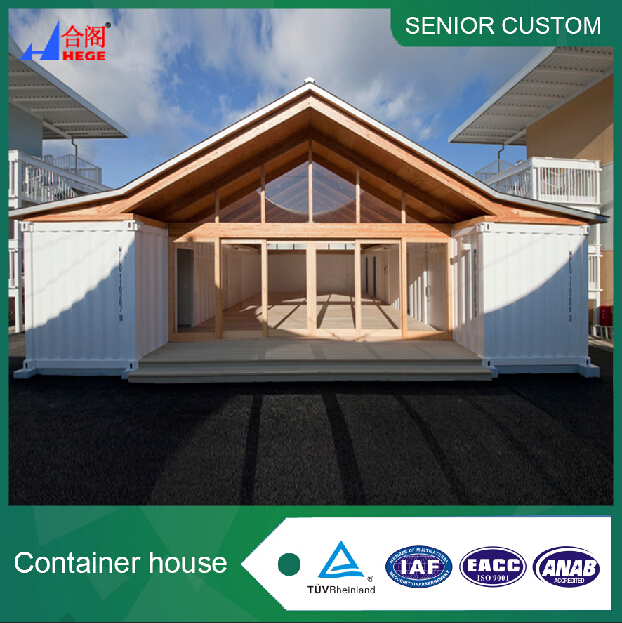 beautiful ready made container house