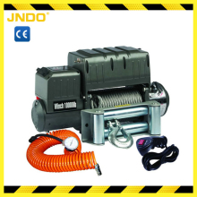 Heavy duty 12V 24V utility air compressor winch 10000lb