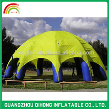 Latest large one layer inflatable dome tent for projection, air dome 3D marquee