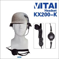 VITAI KX200-K High Quality Aircraft Headsets for Walkie Talkie