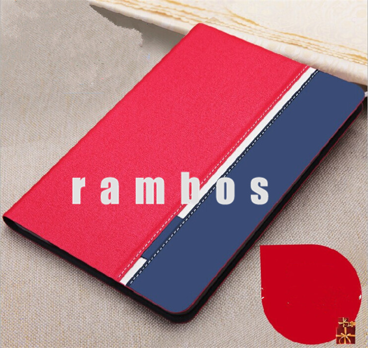 Ultra Thin PU Leather & Jeans Pattern Tablet PC Cases Flip Cover for iPad air for iPad 5
