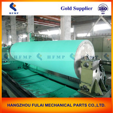 large rubber coated rolls, precision paper making rubber roller