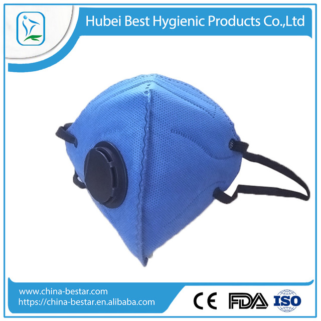 Face Shield CE/N95/ISO certificated anti smog, anti pollution dust mask with the breathing valve and active carbon filter