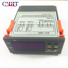 CHRT 110V 220V Thermostat Sensor 2 Relay Output STC-<strong>1000</strong> Digital LED Temperature Controller