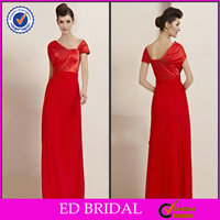 OEM Service A-line Special Sleeveless Floor-length Beaded Indian Style Prom Dresses ED-YH402