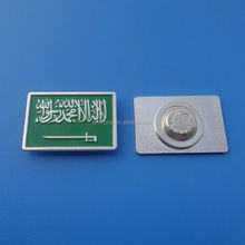 promotion custom shirt collar pins for Saudi Arabia national day celebration