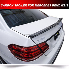 Carbon Fiber W212 Rear Trunk Spoiler for Mercedes W212 AMG Trunk Spoiler Wing