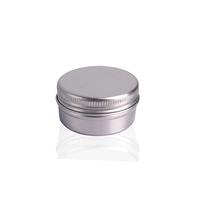 10 Years Experience Recyclable Hair Cream Jar Makeup Cosmetic Aluminum Tin Jar