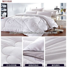 High Quality Hotel Used 400GSM Polyester Filling Thick Quilt