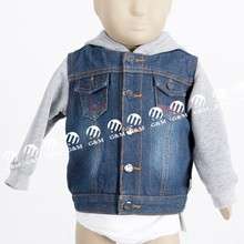 2017 new design and quality custom kids baby jacket