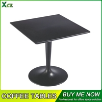 Black Square Shape Head Coffee Tables