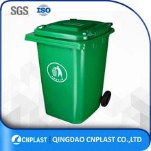 Garbage Bins for Europe Plastic Waste Bin With Various Cubage