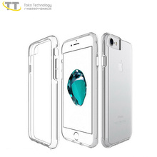 Clear anti-scratch protective case for iphone 8 case custom,three proof phone shell protector case for iphone8