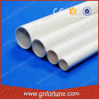 China supplier good quality curved pvc pipe conduit