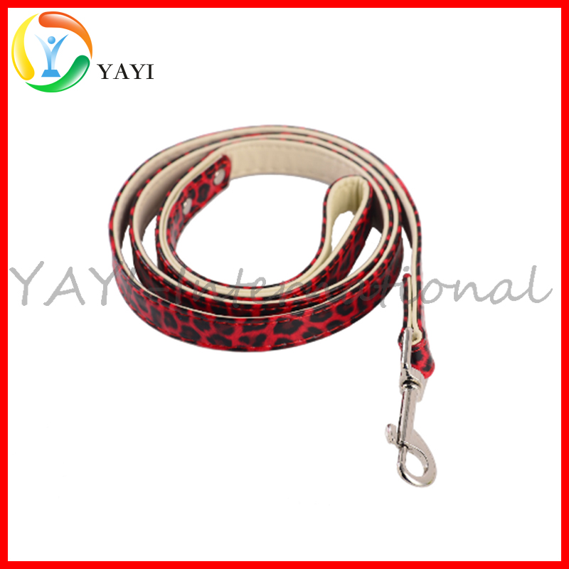 Fashion Style PU Leather Pet Dog Leash
