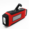 Multifunction led light solar dynamo torch radio phone charger