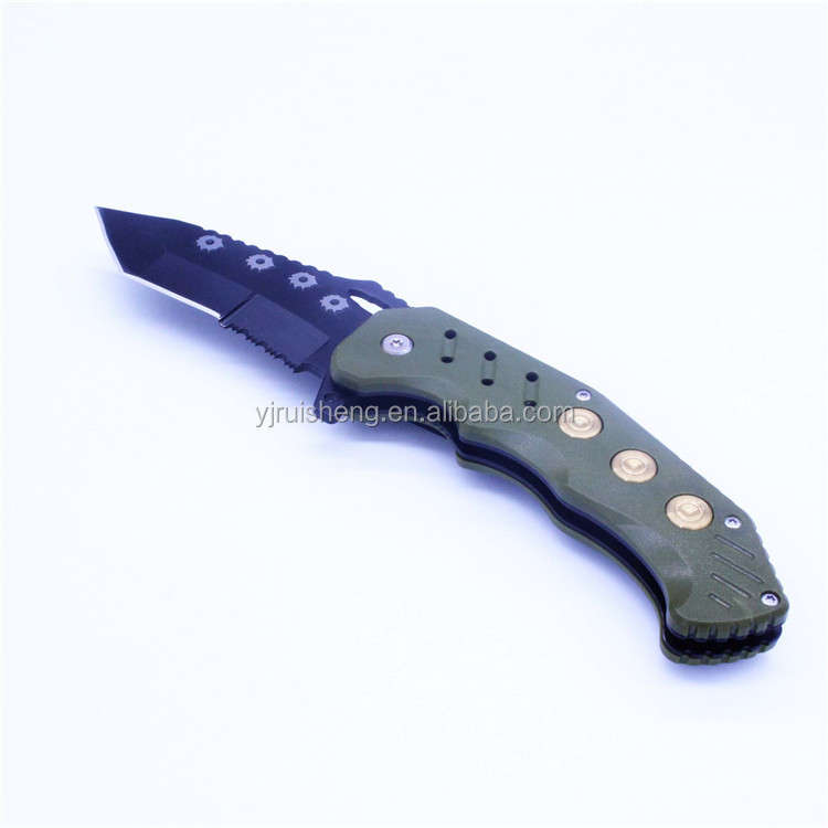 New design machine grade stainless steel Wooden Outdoor Knife